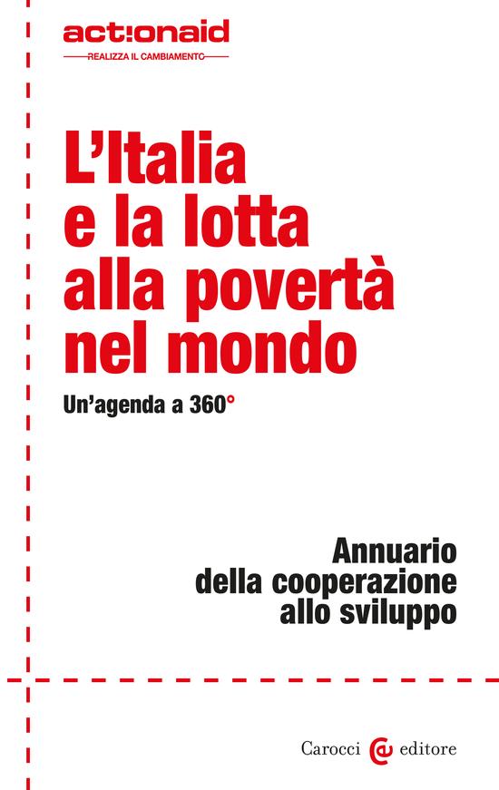 Copertina del libro L'Italia e la lotta alla povertà nel mondo (Un'agenda a 360°)
